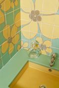 Pop decor - Tiles and glazed lava - Kitchen and bathrooms - Salernes en Provence