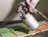 Hand glazing - Tiles - Mural tiles - Salernes en Provence