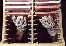 Firing racks - Tiles - Mural tiles - Salernes en Provence