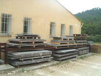 Lave smaltata piero di lava per cucina e bagno atelier for Piani di casa del fienile a una sola storia